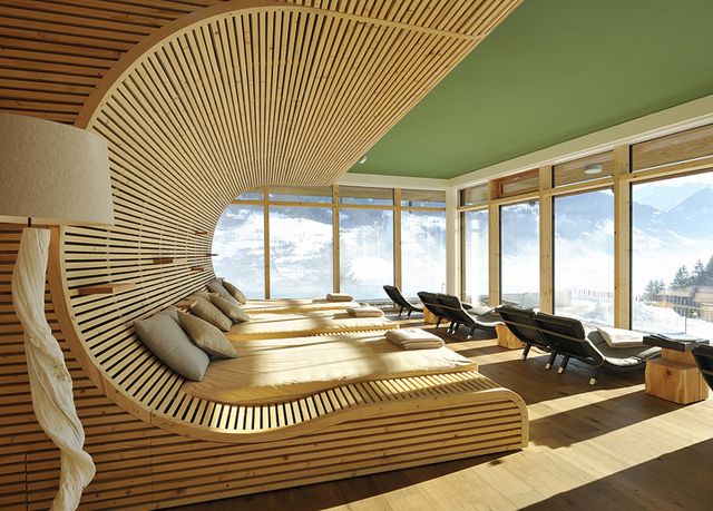 Exklusiver alpen urlaub im design hotel in sterreich for Designhotels in den alpen