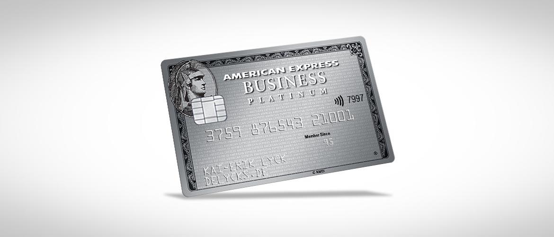 Neuauflage Der American Express Business Platinum Card