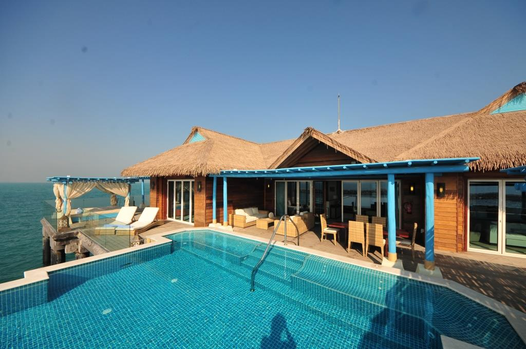Banana Island Resort 3 bedroom water villa 2
