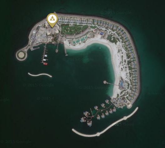 Banana Island Satellit
