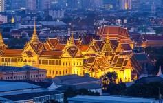 Bangkok-tempel thailand