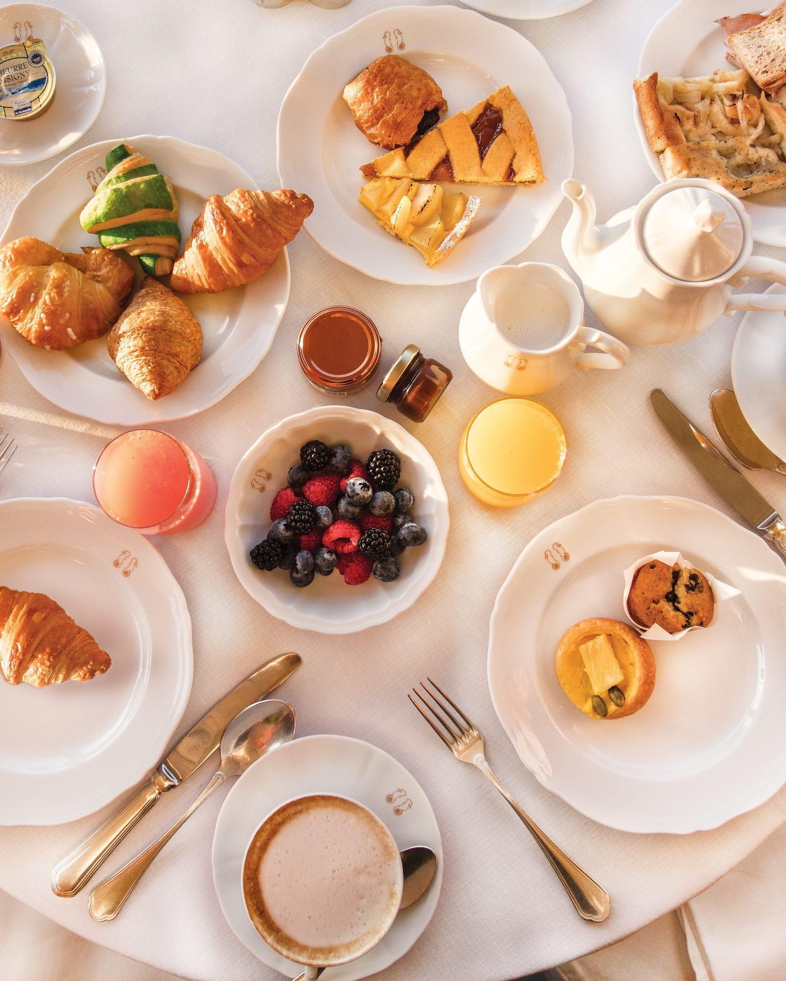 Belmond Hotel Splendido Portofino Frühstück