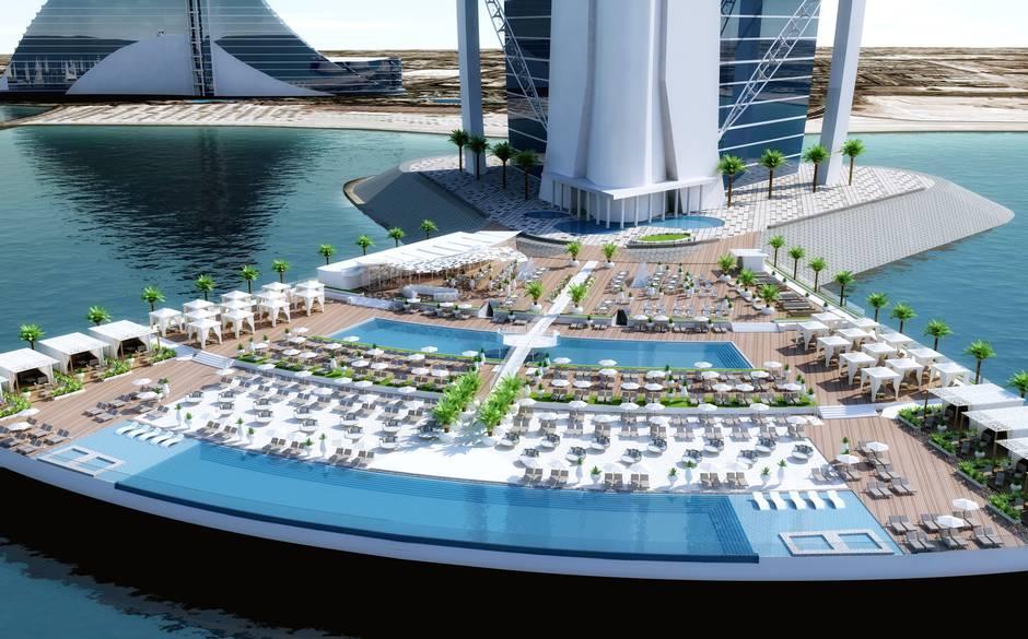 Burj Al Arab North Deck Jumeirah Erg 228 Nzt Einziges 7