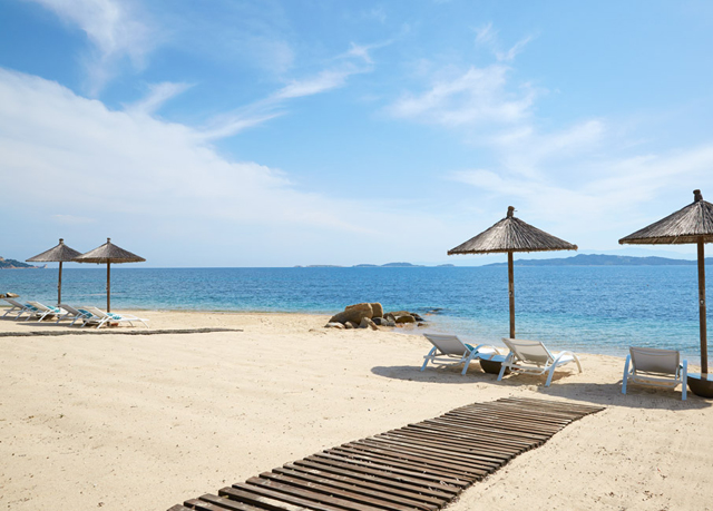 5 sterne strand urlaub in griechenland luxus erholung auf. Black Bedroom Furniture Sets. Home Design Ideas