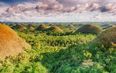 Chocolate-hills-Philippines-Asien Natur