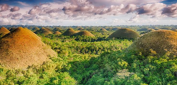 Chocolate-hills-Philippines-Asien Natur
