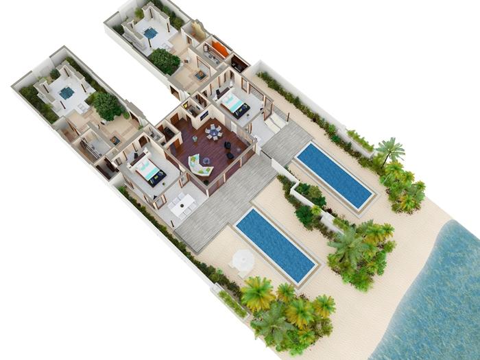 Conrad Maldives Rangali Island Resort Beach Suite