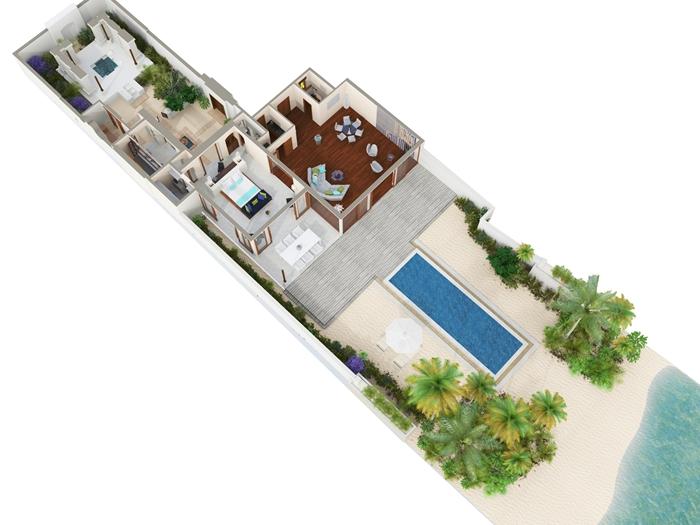 Conrad Maldives Rangali Island Resort Junior Beach Suite