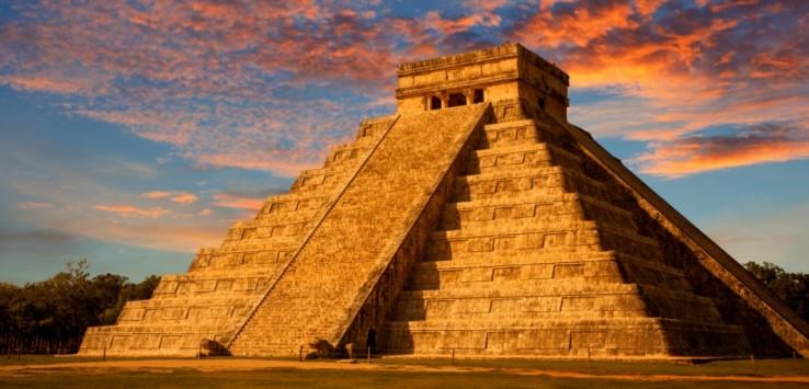 El Castillo Tempel - Mexiko