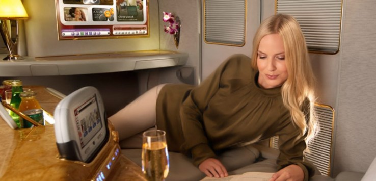 Emirates First Class Suite Blog