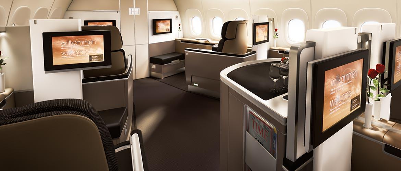 Meilen kaufen - Für Lufthansa First Class einsetzen