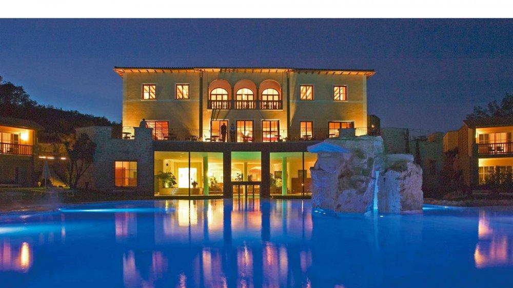 Traumhaftes 5 sterne landhotel in der toskana mit einzigartigem spa vor malerischer kulisse - Hotel terme bagno vignoni ...