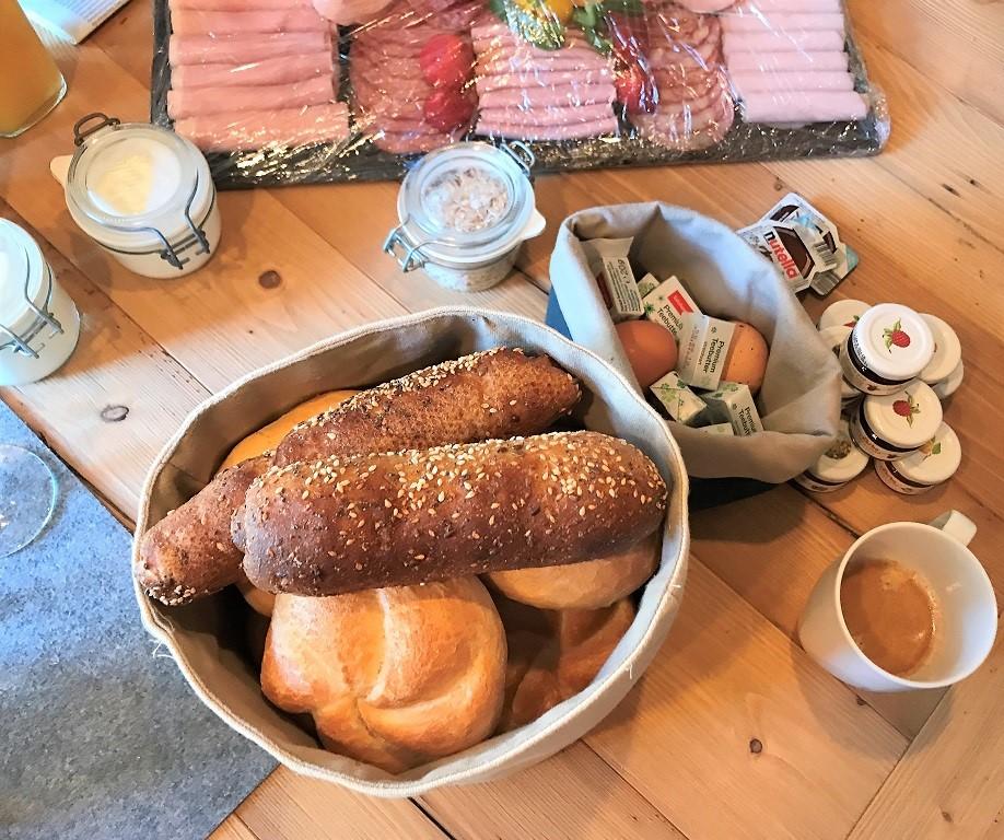 Prechtlgut Wagrain Frühstück