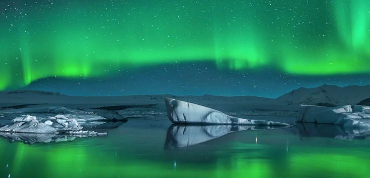 Iceland-nordlicht aurora borealis natur nachts night sky