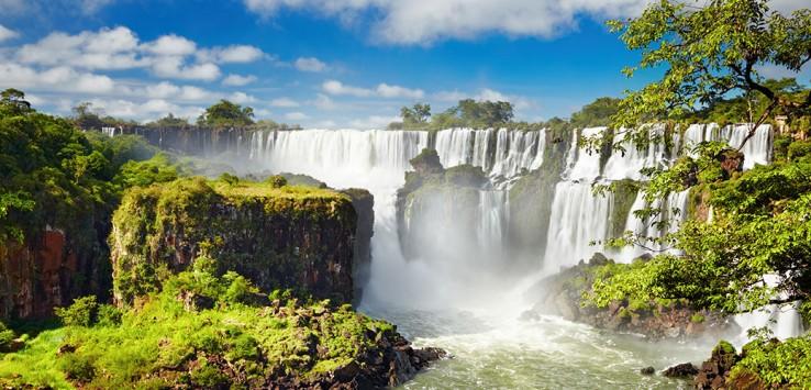 Iguazu-Argentinien Natur Südamerika