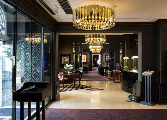 Le Palais Art Hotel Prague Parken