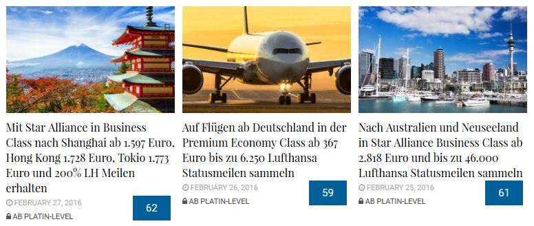 Lufthansa Status Archiv