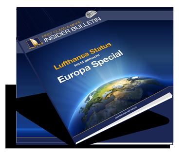 Lufthansa Vielfliegerstatus leicht gemacht - Europa Routings
