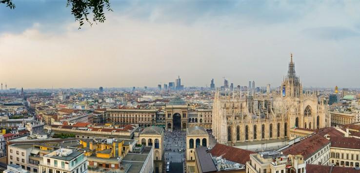 Milan-mailand italien