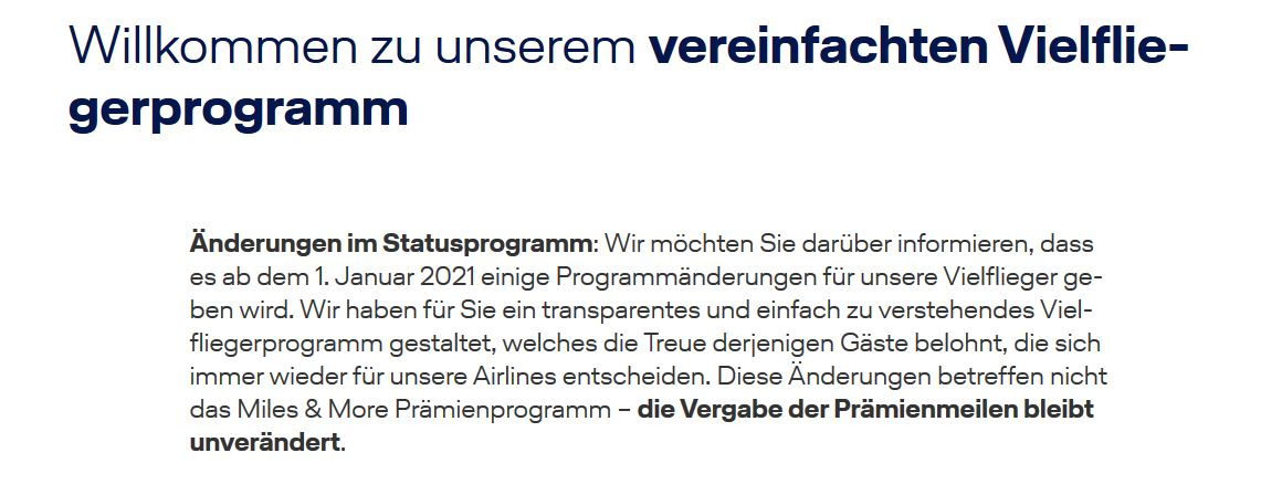 Lufthansa Status Corona Regelungen