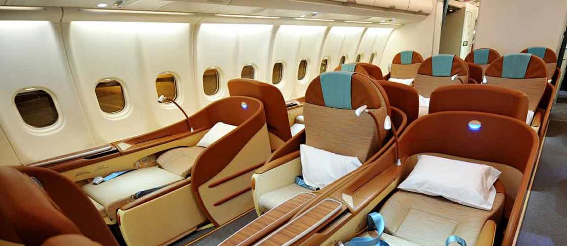 Oman Air Business Class Blog