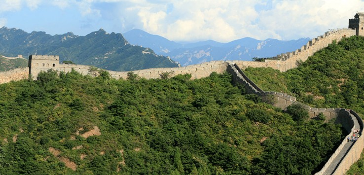 Peking-China Chinesische Mauer Asien