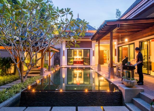 weitl ufige pool villa im 5 sterne resort in phuket mit. Black Bedroom Furniture Sets. Home Design Ideas