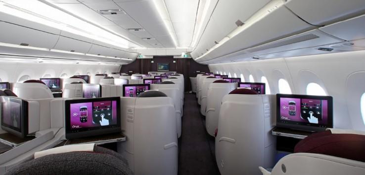 Qatar Airways Business Class 2
