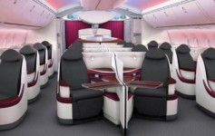 Qatar Airways Dreamliner blog