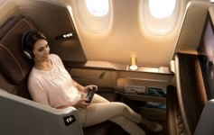 Singapore Airflines First Class blog
