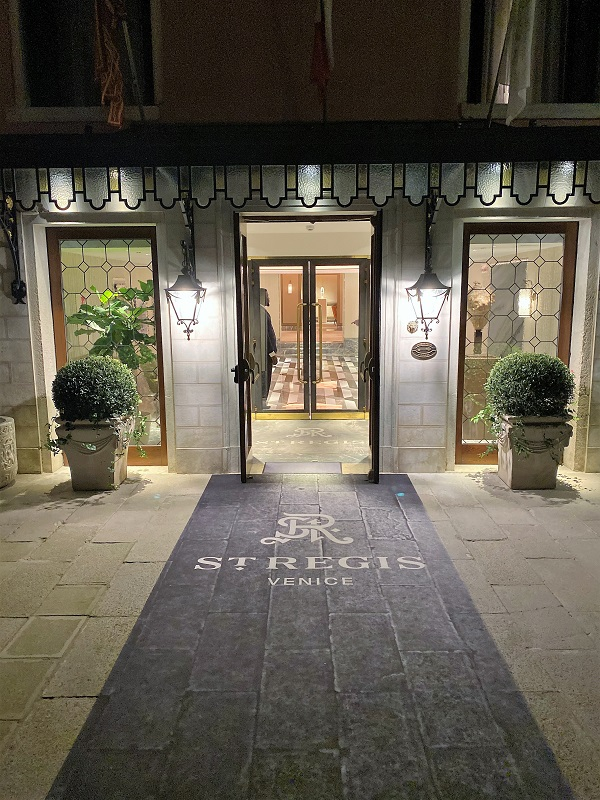 St. Regis Venice Eingang