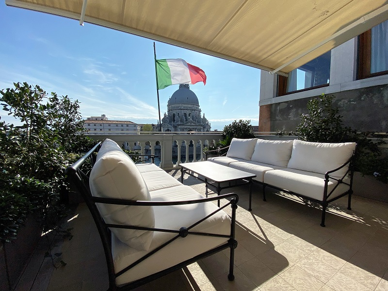 St. Regis Venice Terrace Grand Canal View Suite