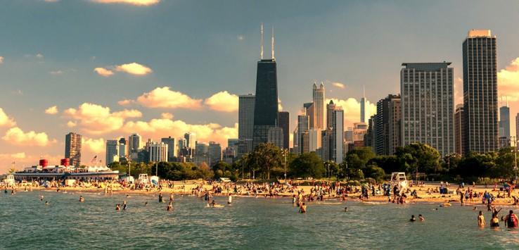 chicago-usa beach
