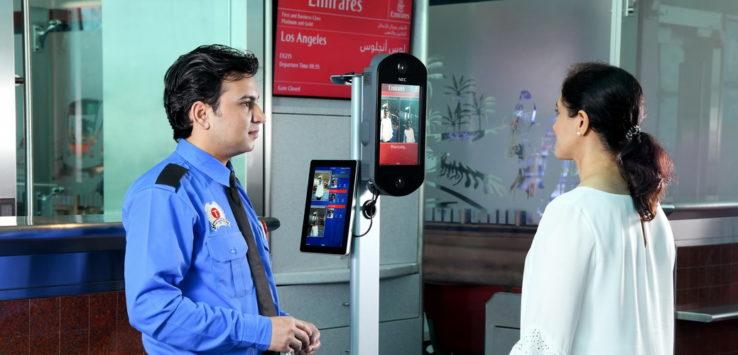 Emirates biometrisches Boarding