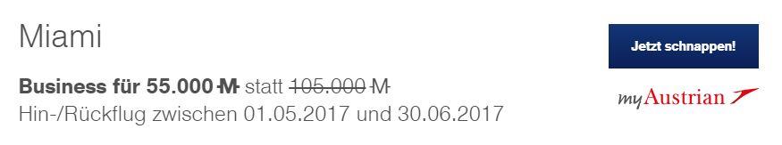 fcam Lufthansa Miles & More Meilenschnäppchen