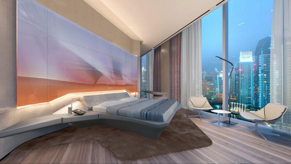 Dubai erhält ein neues Luxushotel mit dem Design von Zaha Hadid ...