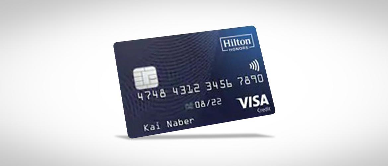 Hilton Kreditkarte mit 10.10 Punkten und Goldstatus erhalten