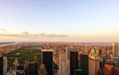new-york-usa central park skyline