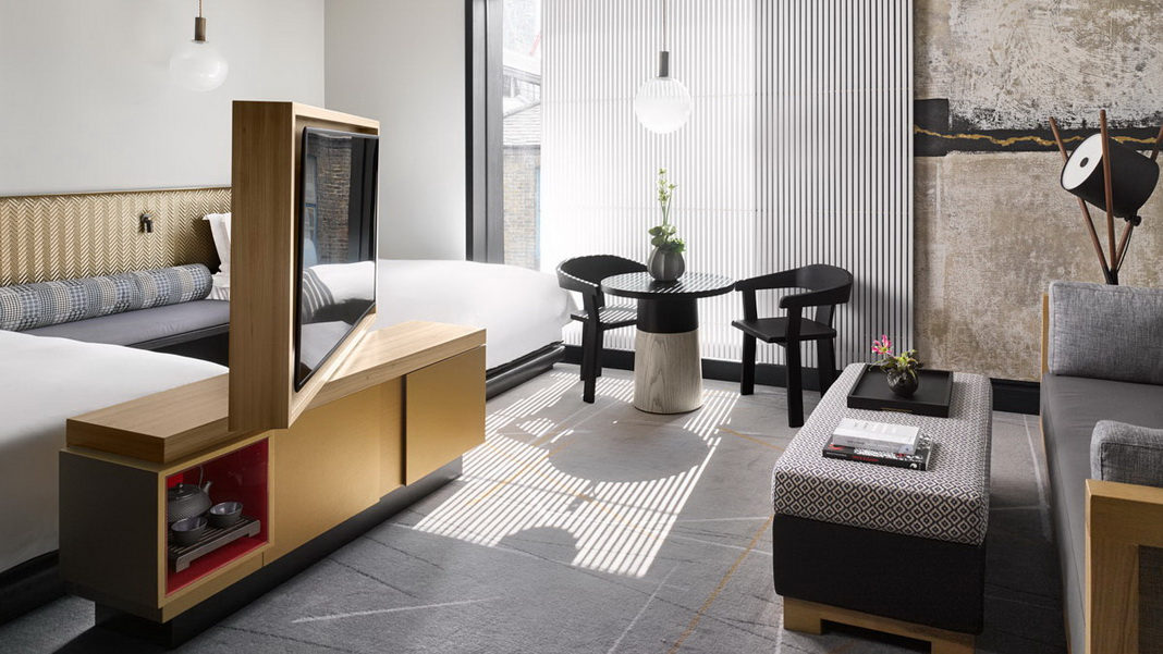 Nobu hotel shoreditch nobu hotel shoreditch joshua 39 s for Neue design hotels