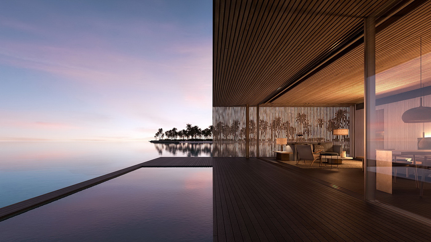 Patina Maldives venerates the horizon with biophilic design concept