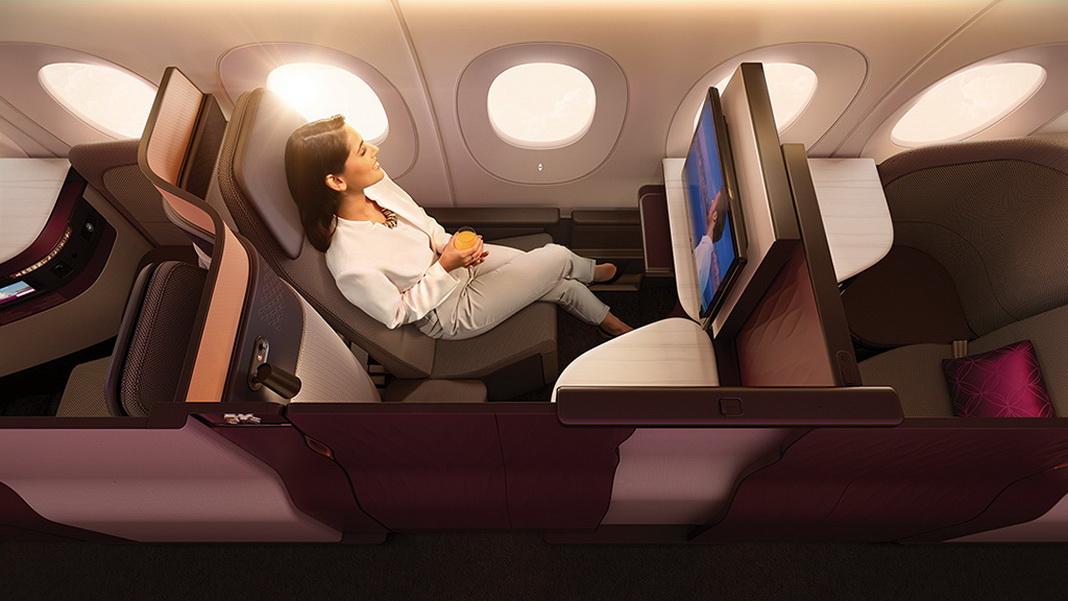 Corona-Virus und Reisen - sicher in der Qatar Airways Qsuite