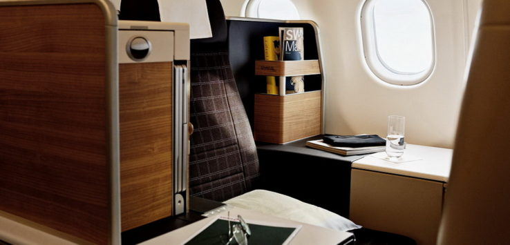 Swiss A340 Business Class