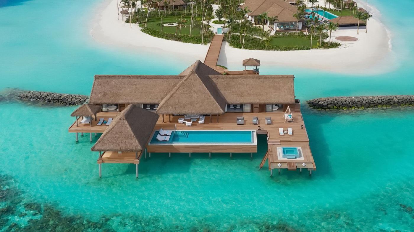 Waldorf Astoria Maldives Privatinsel