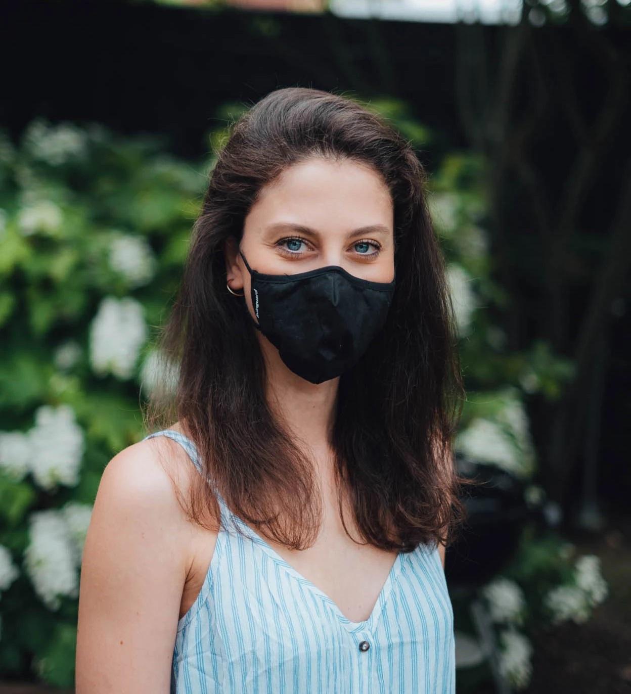 Maske zum Fliegen und im Alltag